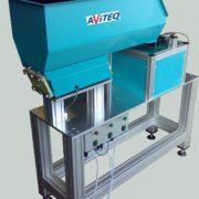 TF-trilkom-trilvuller-met-KF-bunkertrilgoot-en-lineair-toevoer-voor-lasmoeren-AViTEQ